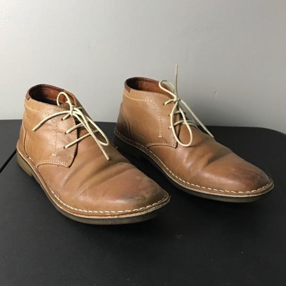 6509beff611 Steve Madden Hestonn tan leather chukka boots 9.5